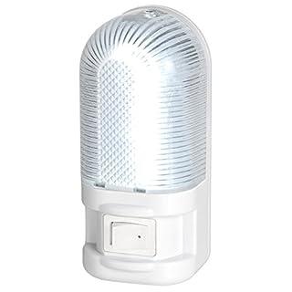 Airam Atlanta Nachtlicht mit Schalter 1W, Weiß, 105x 47x 80mm