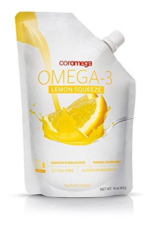 Coromega - Big Squeeze Omega-3 Lemon Nectar 473 ml