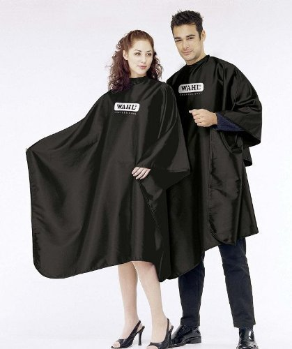 WAHL professional Friseurumhang 100 % hochw. Polyester - schwarz