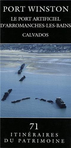 Port Winston : port artificiel, arromanches-les bains, Calvados par Rémy Desquesnes
