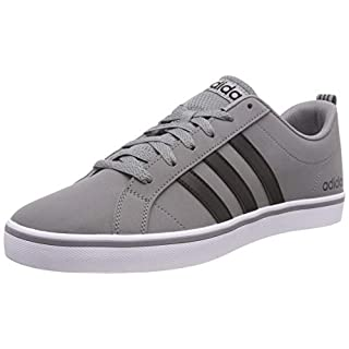 adidas Men's Vs Pace Gymnastics Shoes, Grey (Grey/Core Black/Footwear White 0), 9 UK (43 1/3 EU)