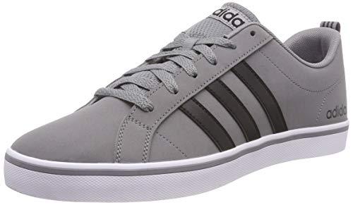 adidas Men's Vs Pace Gymnastics Shoes, Grey (Grey/Core Black/Footwear White 0), 8 UK (42 EU)
