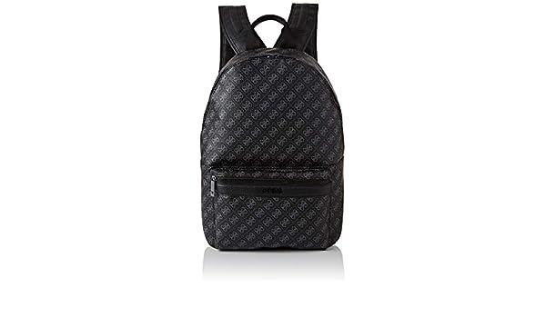 Guess 4g Sport Backpack, Sac à dos Homme, Noir (Black