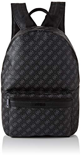 Guess Herren 4g Sport Backpack Rucksack, Schwarz (Black), 12x42x31 centimeters