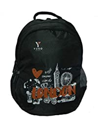 YUKO BAGS Black 32L Casual Bagpack/School Bag Backpack/Backpack