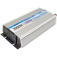 Streetwize SWINV1500 Power Inverter with Twin USB, 1500 W/ 3000 W