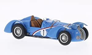 Delahaye 145, No.1, 24h Le Mans, 1938, voiture miniature, Miniature déjà montée, Spark 1:43