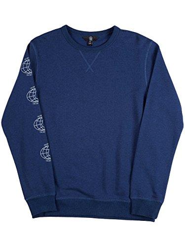 Herren Sweater Volcom Clark Crew Sweater Navy