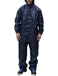 Romano Blue Rain Suit with Waterproof Jacket and Pant for Men