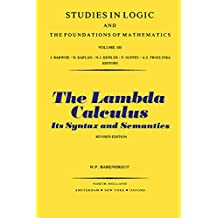 The Lambda Calculus: Its Syntax and Semantics
