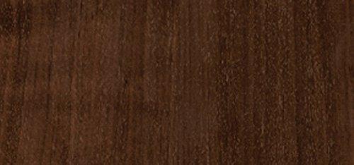 GEKKOFIX 71-170 - Vinilo autoadhesivo madera, 45 cm x 2 m, color wengué