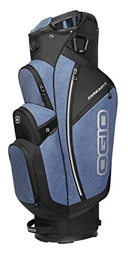 OGIO 2018 Shredder Cart Bag, Blue Static