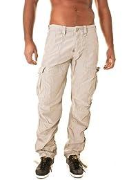 pantalons japan rags mirador beige