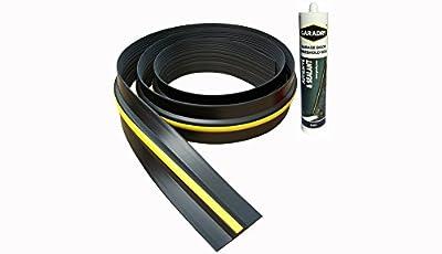15mm Set für die Bodenabdichtung des Garagentors von Weather Stop bei Gartenmöbel von Du und Dein Garten