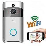 XGLL Video Türklingel mit Kamera,Gegensprechfunktion HD Video Kamera Nachtsicht PIR-Bewegungsmelder, App Control
