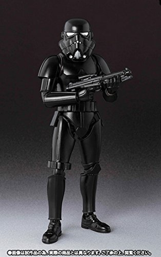 Bandai Tamashii Nataion 2015 S.H.Figuarts Shadow Trooper STAR WARS Action Figure by (Star Wars Shadow Trooper)