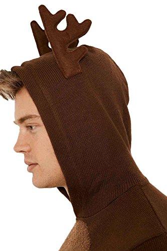 Threadbare -  Felpa con cappuccio  - Uomo Rudolph