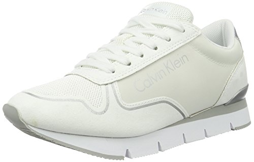 Calvin Klein Jeans Tori Reflex Nylon/Microfiber, Sneakers Basses Femme