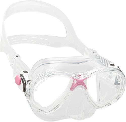 Cressi Marea Jr Mask Kinder Tauchmasken, rosa, Einheitsgröße