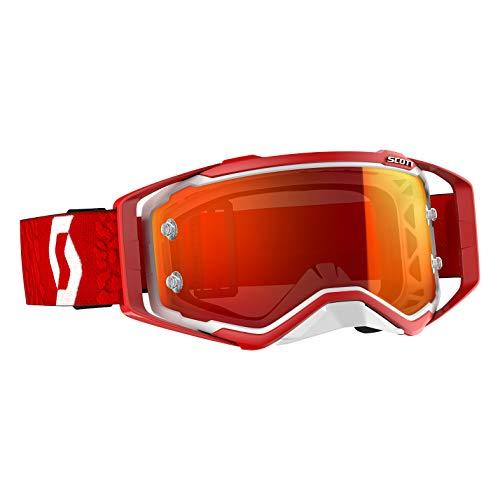 Scott Prospect MX Goggle Cross/MTB Brille rot/orange chrome works
