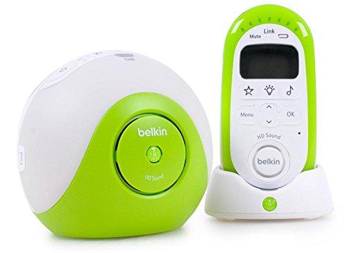 Belkin F7C036CB Pacifier Dect-Babyphone mit Lichtprojektor (300m Reichweite) Belkin Mp3