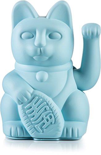 Donkey Products - Lucky Cat blue - blaue Winkekatze | Japanische Deko-Katze in stylischem...