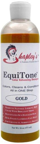 Shapley 's Equitone Color Enhancing Shampoo, Gold - Color Enhancing Shampoo