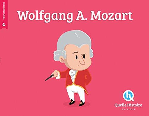 Wolfgang Amadeus Mozart par Patricia Crété