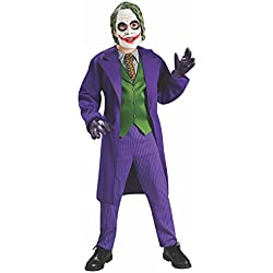 Rubies 's-Disfraz infantil oficial deluxe de Joker, talla M