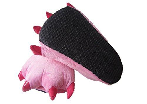 Moollyfox Costume Cosplay Vetements De Nuit Femme Homme Unisexe Pyjama Animaux Onesie Deguisements pink
