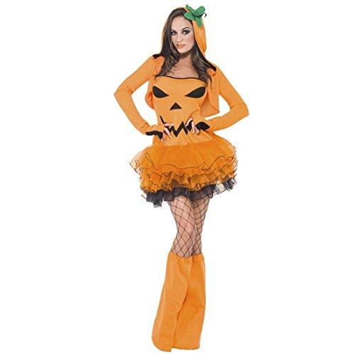 Sexy Kürbis Kostüm Halloweenkostüm Damen L 44/46 Halloween Damenkostüm Ballerina Tütü Pumpkin Tutu Kleid Kürbiskostüm