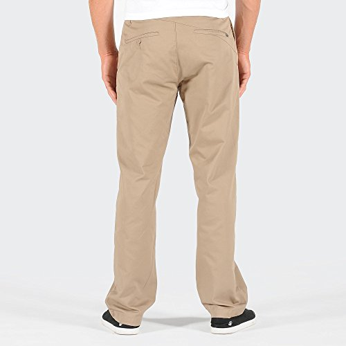 Volcom Frickin Modern - Pantalon - Droit - Homme Beige (Khaki)