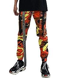 Liangzhu Hombre Pantalon Cargo Pants Pantalones Casuales Work Trousers  Recto Suelto Deporte Joggers… cffe23d9ab70
