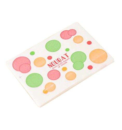 Black Temptation 200 Stück Nougat Candy Wrapper Caramel Wrapper Cute Muster Verpackung Taschen - A2