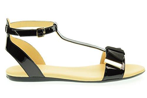 HOGAN femme sandale HXW1330U700OW0B999 Nero
