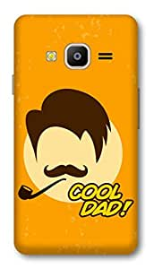 Samsung Z2 2016 Designer Hard-Plastic Phone Cover From Print Opera -Cool Dad