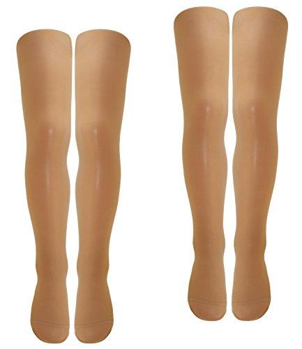 Haut Feminine Tücher (Ewers 2er Pack Mädchenfeinstrumpfhosen Sparpack Feinstrumpfhosen Markenstrumpfhosen für Kinder (EW-96010-S17-MA2-363-363-98/104) in Teint-Teint, Größe 98/104 inkl. EveryKid-Fashionguide)