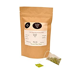 Organic-Moringa-tea-Ayurvedic-Shigru-chai-I-Weight-Loss-Tea-I-Wellness-Tea-I-Caffeine-Free-I-Calorie-Free-I-Pyramid-Tea-Bags
