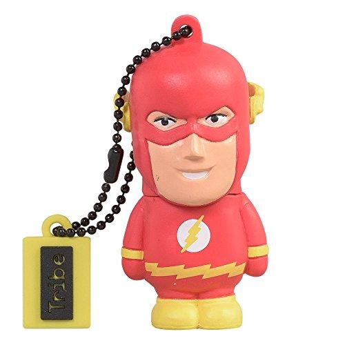 Tribe-DC-Comics-Action-Figure-Flash-Chiavetta-USB-da-8-GB-Pendrive-Memoria-USB-Flash-Drive-20-Memory-Stick-Idee-Regalo-Originali-Figurine-3D-Archiviazione-Dati-USB-Gadget-in-PVC-con-Portachiavi-Multic