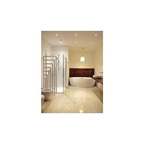 anapont Divisorio, parete divisoria scaldasalviette Design termosifone Angus, in bianco, 1620 ore x 600 B
