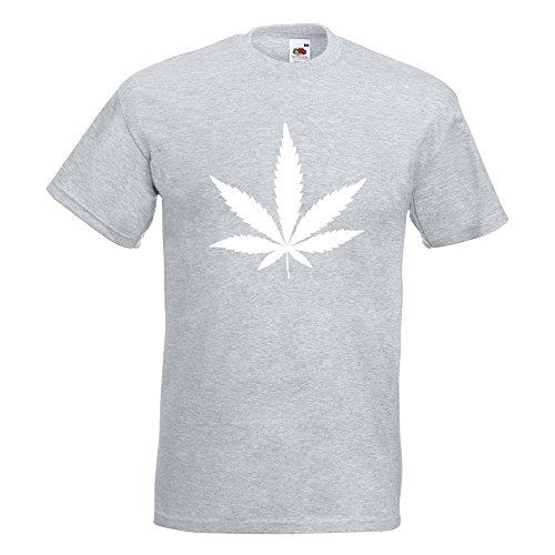 KIWISTAR - Hanf T-Shirt in 15 verschiedenen Farben - Herren Funshirt bedruckt Design Sprüche Spruch Motive Oberteil Baumwolle Print Größe S M L XL XXL Graumeliert