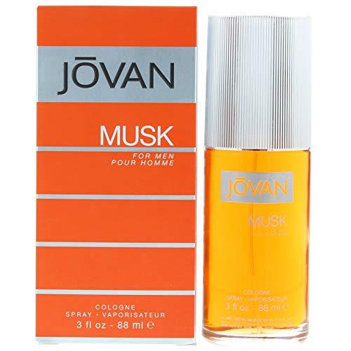 Jovan Musk Men EDC 88 ml Vapo, 1er Pack (1 x 88 ml) -