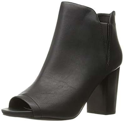 Madden Girl Women's Fiizzle Ankle Bootie, Black Paris, 6 M US