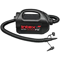 Intex - Hinchador eléctrico 220-240v + boquilla de aguja (68609)