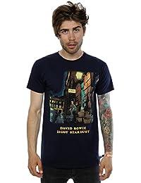 David Bowie Homme Ziggy Stardust T-shirt XX-Large Marine