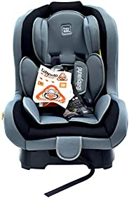Babyauto Lolo Baby Car Seat, From Birth to 4 Years, From 9kg to 18 Kg-Grey/Black