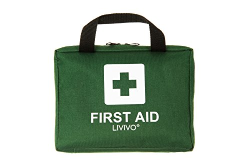 Price comparison product image LIVIVO ® 90 PCS First Aid Kit Bag Medical Emergency Kit. Travel, Home, Office, Vehicle, Car Taxi Workplace, Camping