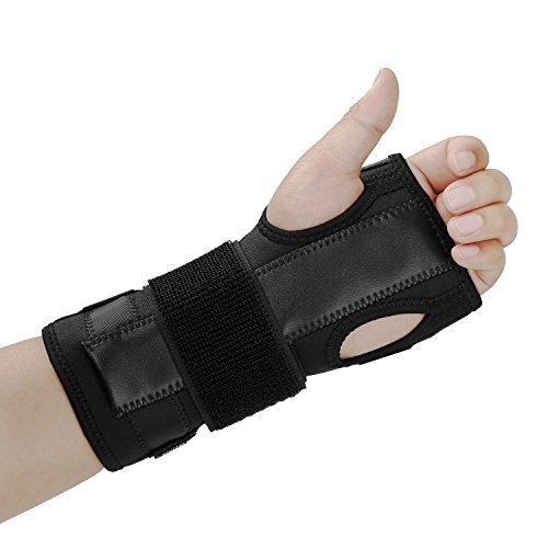 Unterarm-stütze (AOLIKES Hand Schienen Handgelenkbandage Karpaltunnelsyndrom Unterstützung Stütze Verstauchungen Zerrungen Arthritis Links Rechts Medizinisch Wirkung)