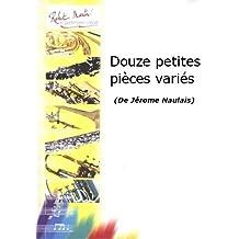 Partitions classique ROBERT MARTIN NAULAIS J. - DOUZE PETITES PICES VARIS Basson