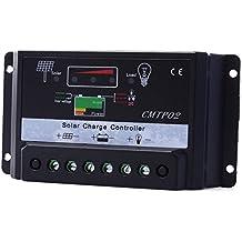 SHINA Intelligent Régulateur de Charge Solaire numérique PWM 15A   Regulateur  Controleur de charge pour panneaux ddab8ebd10e0